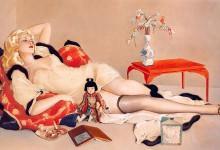 Картины художника Альберто Варгаса для журналов Esquire и Playboy