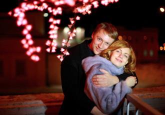 Наталья и Евгений Тепляковы в молодости