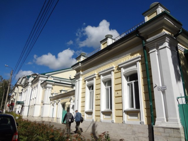 Дом архитектора Иосифа Францевича Тибо-Бриньоля в Орле