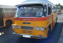 Старые мальтийские автобусы