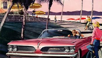Ретро-реклама американских автомобилей