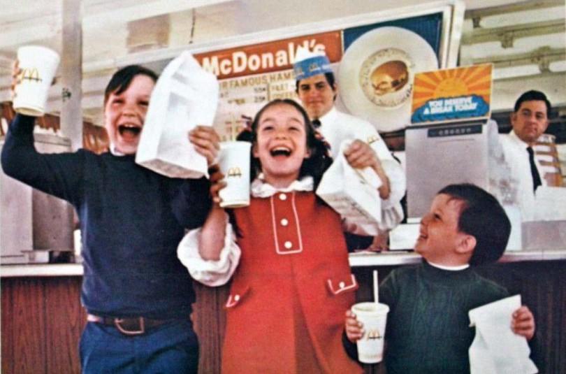 История «Макдоналдс» в рекламе 1960-1980 годов