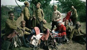 Интересные цветные фотографии 1914 года!