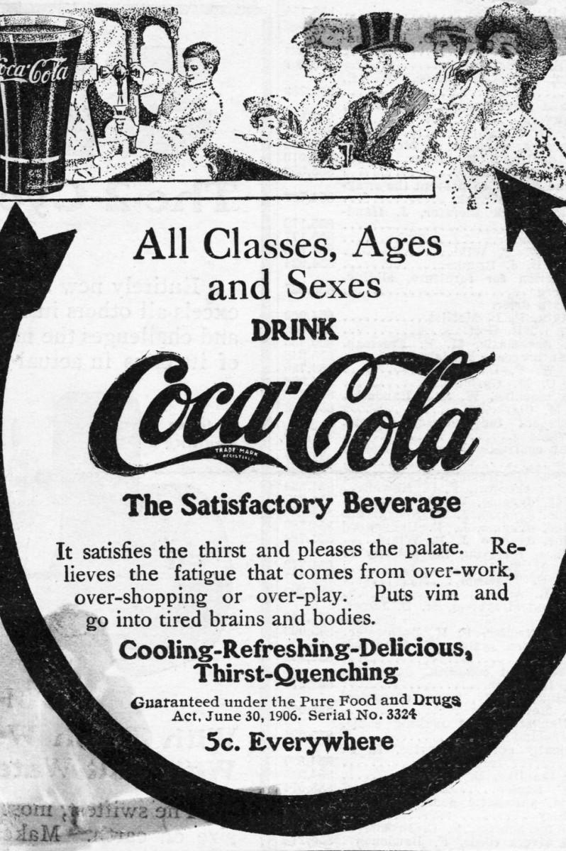 История компании Кока-Кола в рекламе