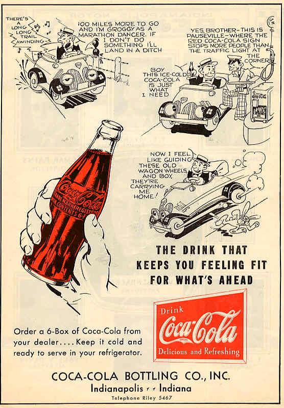 Кока-Кола в рекламе