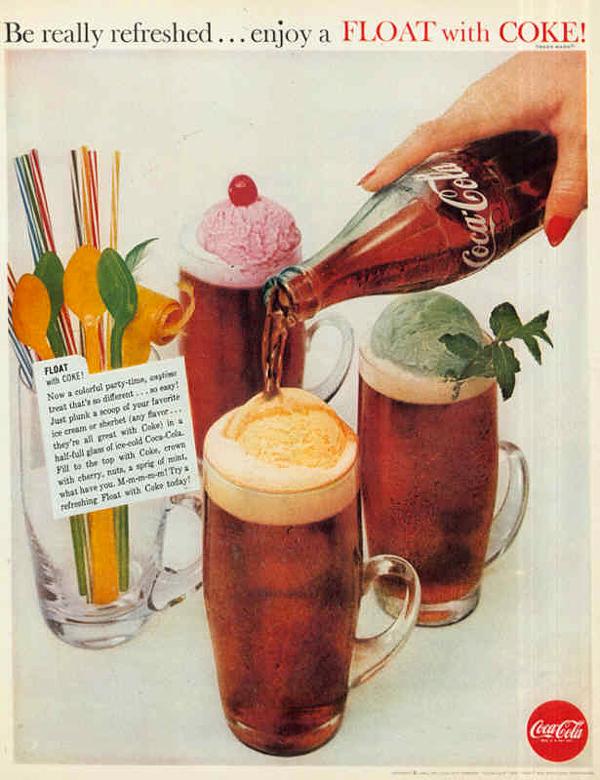 История компании Coca-Cola в рекламе
