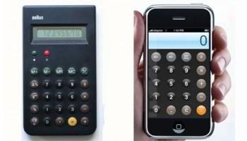 Сравнение дизайна от компаний Apple и Braun