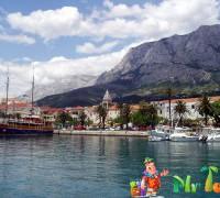 Поездка в автомобиле по Хорватии
