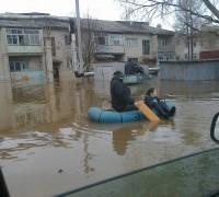 Наводнение в Великом Устюге в апреле 2016 года